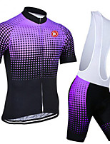 KEIYUEM® Summer Cycling Jersey Short Sleeves + BIB Shorts Ropa Ciclismo Cycling Clothing Suits #K96