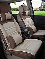 MPV tampa do assento de carro assento fits universais assento protetor de cobre com um conjunto de almofadas