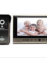 KiVOS Infrared Sensing Doorbell 7 Inch Home Wireless Visual Intercom Doorbell Monitoring Camera Waterproof Lock