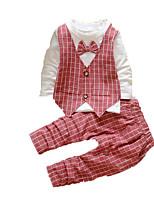Baby Print Clothing Set,Cotton Fall-Black / Blue / Green / Red