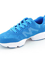 Velvet Rubber Candy-colored Floral Mesh Leisure  Casual Shoes