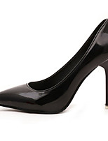 Women's Shoes Patent Leather Basic Pump / Pointed Toe Heels Wedding / Office & Career / Party & Evening Stiletto Heel