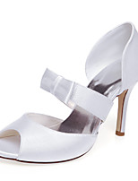 Women's Wedding Shoes Heels / Platform Heels Wedding  / White