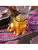 1Piece/Set Favor Holder Resin Lucky Elephant Ferriero Candy Holder, Place Card Holder Party décor