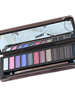 12 Colors EyeShadow Nude Comestic Long Lasting Beauty Makeup