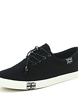 Men's Shoes Casual Canvas Fashion Sneakers Burgundy /Dark Blue/Black