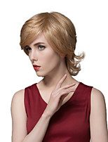 New Fashion Trend Carefree Short Straight Wig Human Hair
