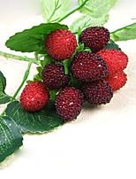 1 1 Ramo Tessuto sintetico / Plastica Frutta Fiori da tavolo Fiori Artificiali 7.8inch/20cm