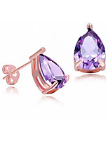 AAA Drop Earrings Earring Really ZirconiumImitation Diamond Birthstone
