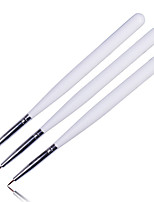 Manicure Flower Painting Line Drawing Pen Strokes Pull Nail Line Drawing Pen 3PCS.