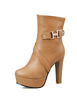 Women's Shoes   Heels / Fashion Boots Boots Outdoor / Office & Career / Casual Platform OthersBlack / &199-1