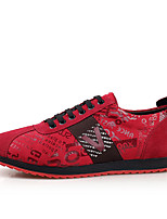 Men's Shoes V Cowhide Casual Canvas Comfortable Flats EU 39-43