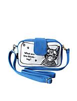 Flower Princess® Women Canvas Shoulder Bag Blue-1404X00101