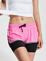 Running Bottoms / Shorts Women's Breathable / Quick Dry / Compression / Lightweight Materials / Sweat-wicking TeryleneYoga / Fitness /