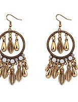 Atmospheric Water Droplets Tassel Earrings