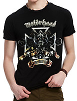 Men's Summer Motorhead British Heavy Metal Rock Band T-Shirt
