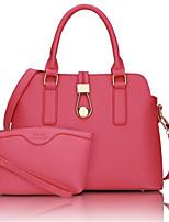 Women-Casual-PU-Shoulder Bag-White / Pink / Blue / Red / Black