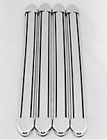 Automotive Supplies Body Protector Scuff Strips / Anti-Rub Metal Strip 4 Pcs