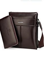 Men-Formal / Casual / Office & Career / Shopping-PU-Shoulder Bag-Brown / Black / Khaki