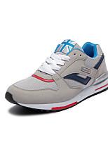 Men's Spring / Summer / Fall Comfort Fabric Casual Flat Heel Blue / Gray / Beige / Royal Blue Sneaker