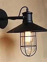 lampadina inclusa appliques, rustico / lodge e27 metallo