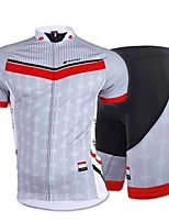 NUCKILY Men's Cycling Tops / Bottoms Short Sleeve Bike Spring / Summer / Autumn Breathable / Stretch / Sweat-wicking