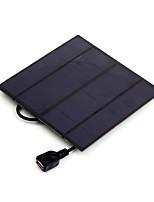 3w 5v выход USB монокристаллического кремния зарядное устройство солнечная панель для Iphone 6s Самсунга Huawei (sw3005u)