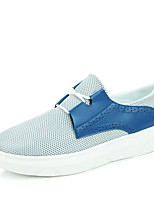 Men's Shoes Tulle Casual Sneakers Casual Sneaker Flat Heel Others Blue / White / Gray