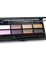 8 couleurs fard à paupières nude comestic une beauté maquillage durable des couleurs aléatoires