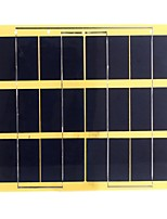 5W 6V Monocrystalline Silicon Solar Panel Solar Cell for DIY (SWB5006)