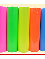 PVC Fluorescent Film Advanced Thermal Transfer Film Can Be Printed LOGO, Font