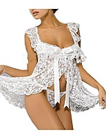 Women Ultra Sexy Nightwear,Lace / Mesh / Polyester