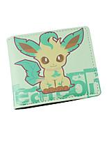 Cartoon Pocket Little Monster  Short Wallet-F