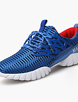 Men's Sneakers Spring / Summer / Fall Comfort Tulle Casual Flat Heel Others Black / Blue / Red / Gray / Royal Blue Sneaker