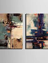 toile set Abstrait Style européen,Deux Panneaux Toile Verticale Imprimer Art Décoration murale For Décoration d'intérieur