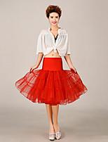 Slips(Tülle / Polyester,Weiß / Schwarz / Rot / Blau / Lila / Rosa / Gelb / Orange) -S:65cm,M:65cm,L:65cm-3-Abendkleid