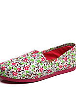 Women's  Canvas Summer Comfort /  Outdoor / Casual  Fashionl  shoes Black / White
