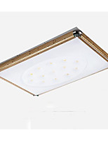 Acrylic Remote Electrodeless Rectangle That Move Light Led Contracted Sitting Room Dome Light Aluminum Lamp