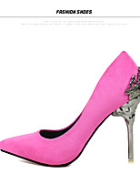 Women's Shoes leather high  Heels Pointed Toe Heels Wedding Party & Evening Dress Stiletto Heel women pump
