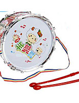 Cartoon sheep with lanyard Mimi sided drum Toys