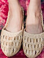 Sapatos Masculinos-Sandálias-Amarelo-Flanelado-Ar-Livre / Para Esporte