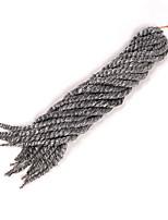 Roxa Havana Tranças torção Extensões de cabelo 12 14 16 18 20 22 24 Kanikalon 12 costa 80-120g/pack grama Tranças de cabelo