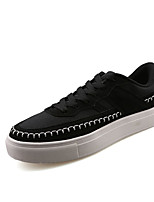 Men's Sneakers Spring / Fall Round Toe Tulle Outdoor / Casual / Athletic Flat Heel Others Black / Blue / Yellow / White