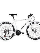 XHING Fixed Gear Bike Disc Brakes 21-Speed 26-Inch Blade 60