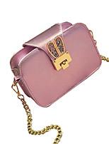 Women PU Casual Shoulder Bag White / Pink / Black