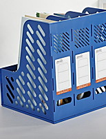 Office Dedicated Plastic Three Grid File Baskets