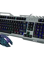 Com Fio USB Teclado & MouseForWindows 2000/XP/Vista/7/Mac OS
