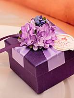 10 Piece/Set Favor Holder-Cubic Card Paper Wedding Favor Boxes Candy Boxes