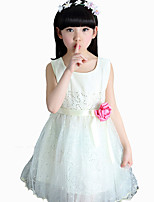 Girl's Cotton Summer Fashion Paillette Princess Dress