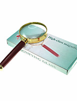 Amplification 6X 50mm Optical Magnifying Glass Handheld Reading Magnifier